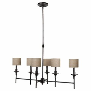 Foland 6-Light Shaded Chandelier