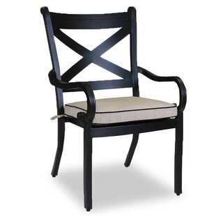 Monterey Patio Dining Chair with Cushion Sunset West