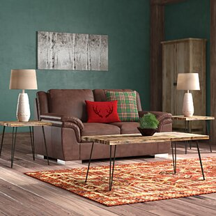 Stuber Living Room 3 Piece Coffee Table Set