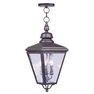 Three Posts Guillory 2-Light Outdoor Hanging Lantern