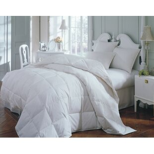 Silver White Down Duvet Insert by Alwyn Home Great Reviews