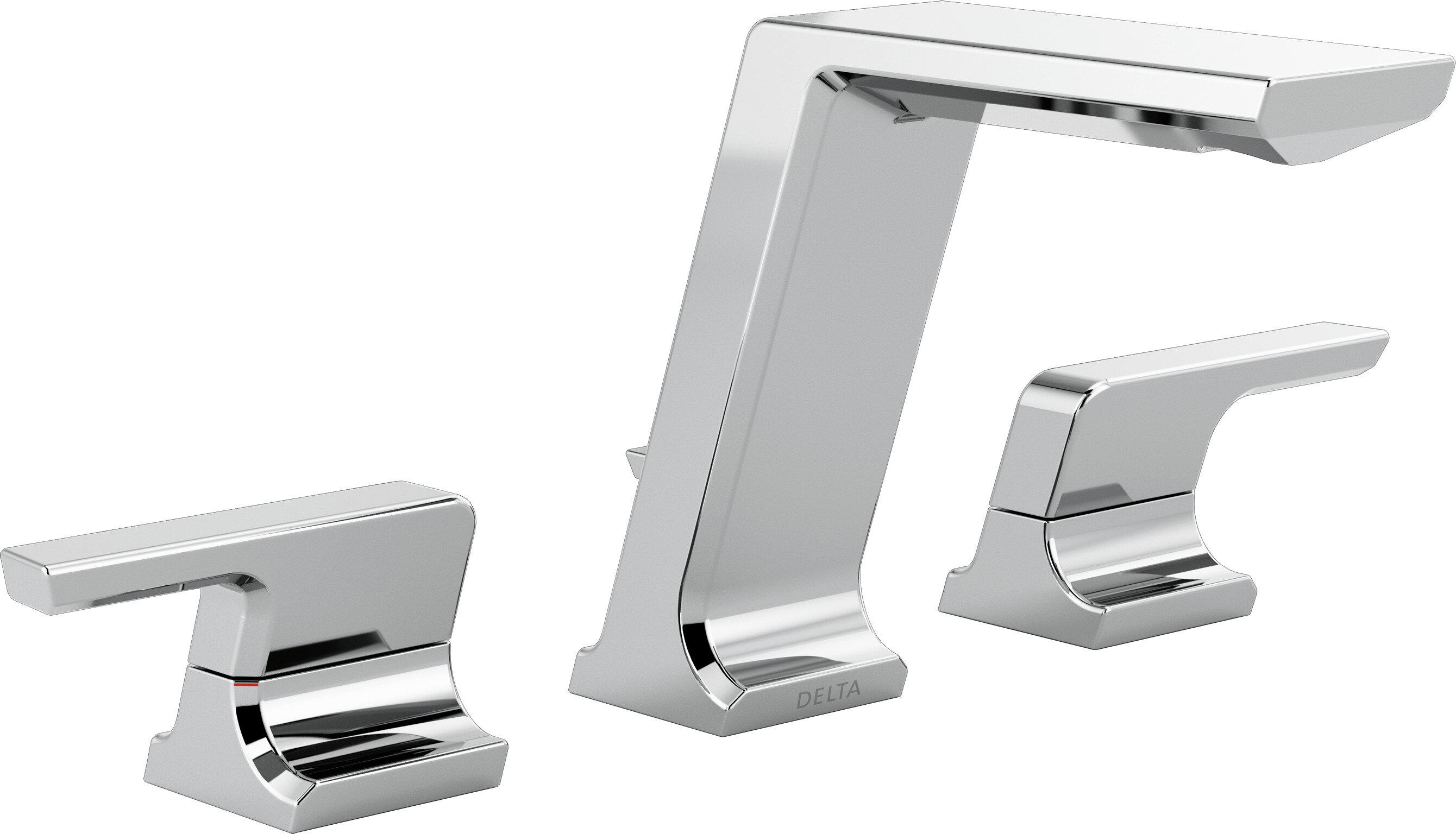 Delta Pivotal Widespread Bathroom Faucet | Wayfair