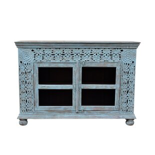 Alia 2 Door Glass Sideboard Mistana
