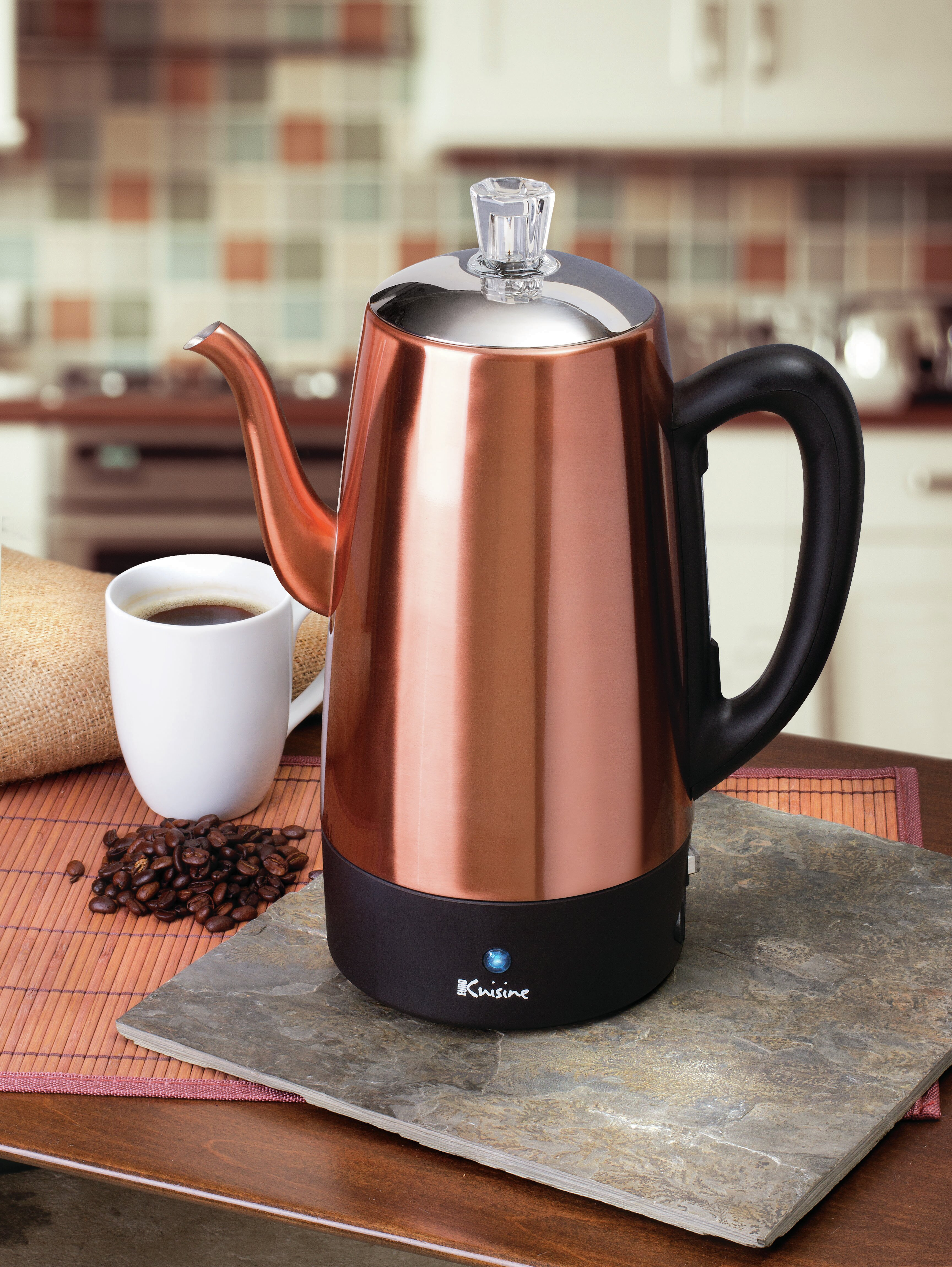 Euro Cuisine Electric Coffee Maker & Reviews | Wayfair
