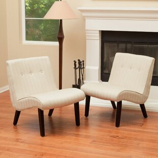 George Oliver Lahti Slipper Chair (Set of 2)