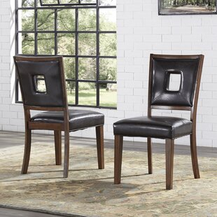 Paugh Upholstered Dining Chair (Set of 2) Williston Forge