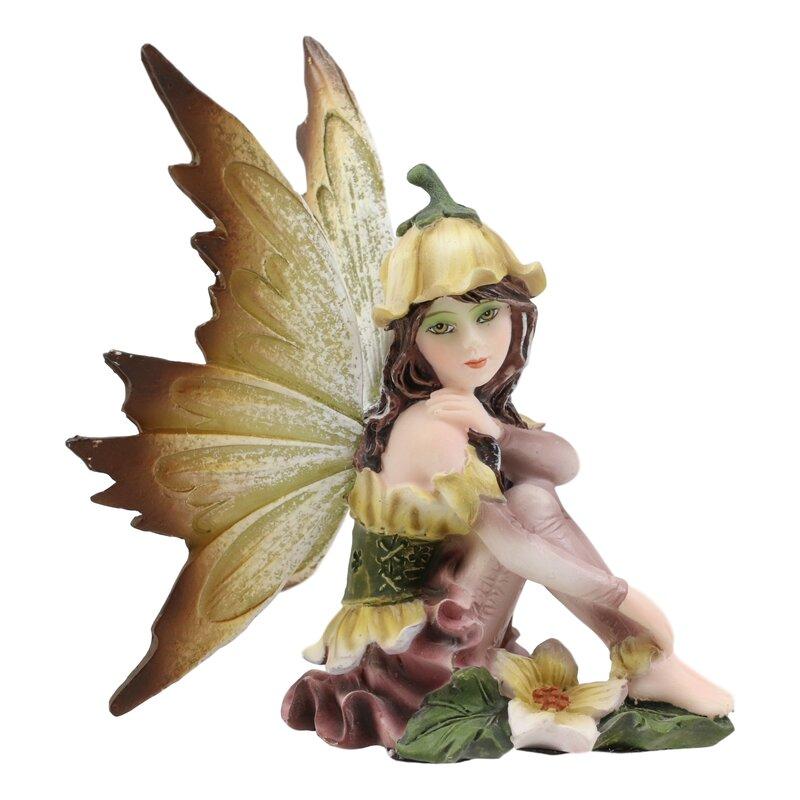 August Grove Faustus Enchanted Fairy Garden Statue | Wayfair