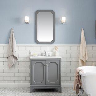 Kylan 30 Single Bathroom Vanity Set with Mirror By Alcott Hill