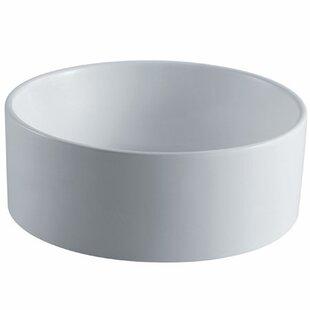 Purchase Park Ceramic Circular Vessel Bathroom Sink ByElements of Design