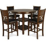 5 - Piece Counter Height Dining Set by Red Barrel Studio®
