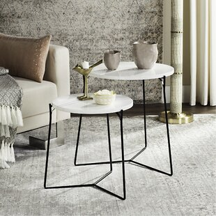 Dagostino 2 Piece Nesting Tables by Brayden Studio