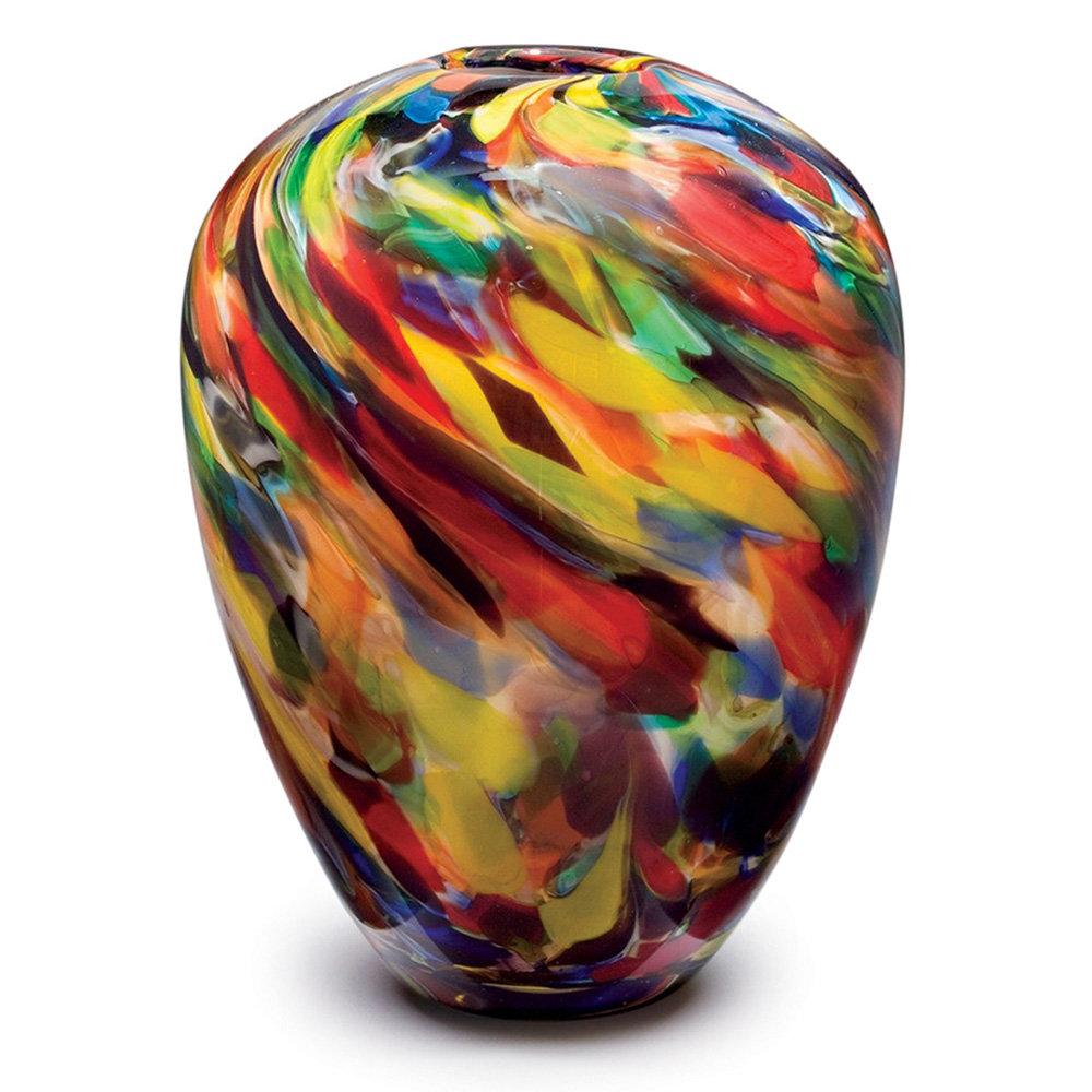 Dynasty Gallery Multicolor 11 Indoor Outdoor Glass Table Vase Perigold