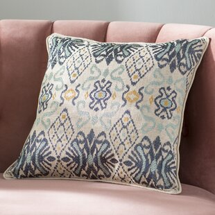 Glenside Ikat Throw Pillow