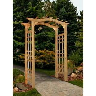 New England Arbors Westwood Wood Arbor