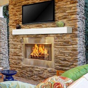 Zachary Non Combustible Fireplace Shelf Mantel