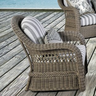 Ophelia & Co. Britt Deep Seating Chair wi..