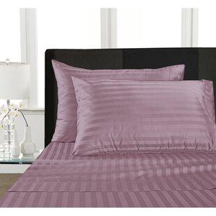 Rosenow 1000 Thread Count Striped 100% Cotton Sheet Set ByCharlton Home