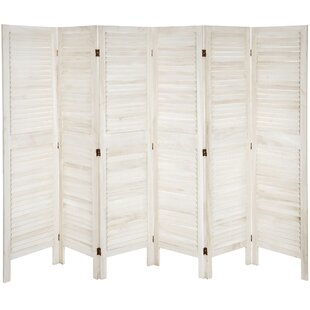 Beachcrest Home Ares 6 Panel Room Divider