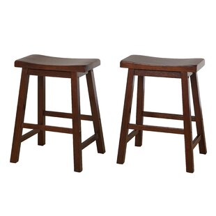 Where buy  Whitworth 24 Bar Stool (Set of 2) by Andover Mills Reviews (2019) & Buyer's Guide