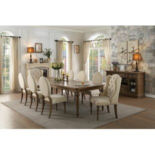 Antonie Oval Upholstered Dining Chair (Set of 2) One Allium Way