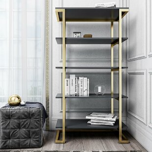 Camila Etagere Bookcase By CosmoLiving By Cosmopolitan