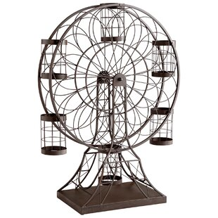 Ferris Wheel 6 Bottle Tabletop Wine Rack ..