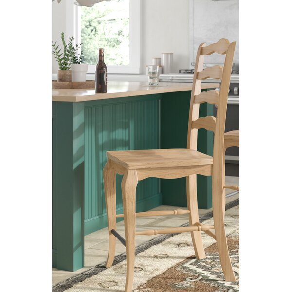 Swell Lafayette Bar Stool Honey Wayfair Ocoug Best Dining Table And Chair Ideas Images Ocougorg