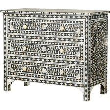 Collier Traditional 3 Drawer Chest by Mistana