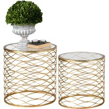 Brixton 2 Piece Table Set by Willa Arlo Interiors