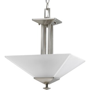 Thane 2-Light Semi Flush Mount by Latitude Run