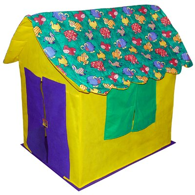 Bazoongi Kids Stuffed Animal Cottage 2.5' x 3.17' Playhouse