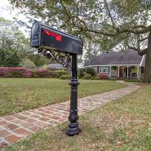 5  Ft. H In-Ground Decorative Post By Vandalet Mailbox Co.