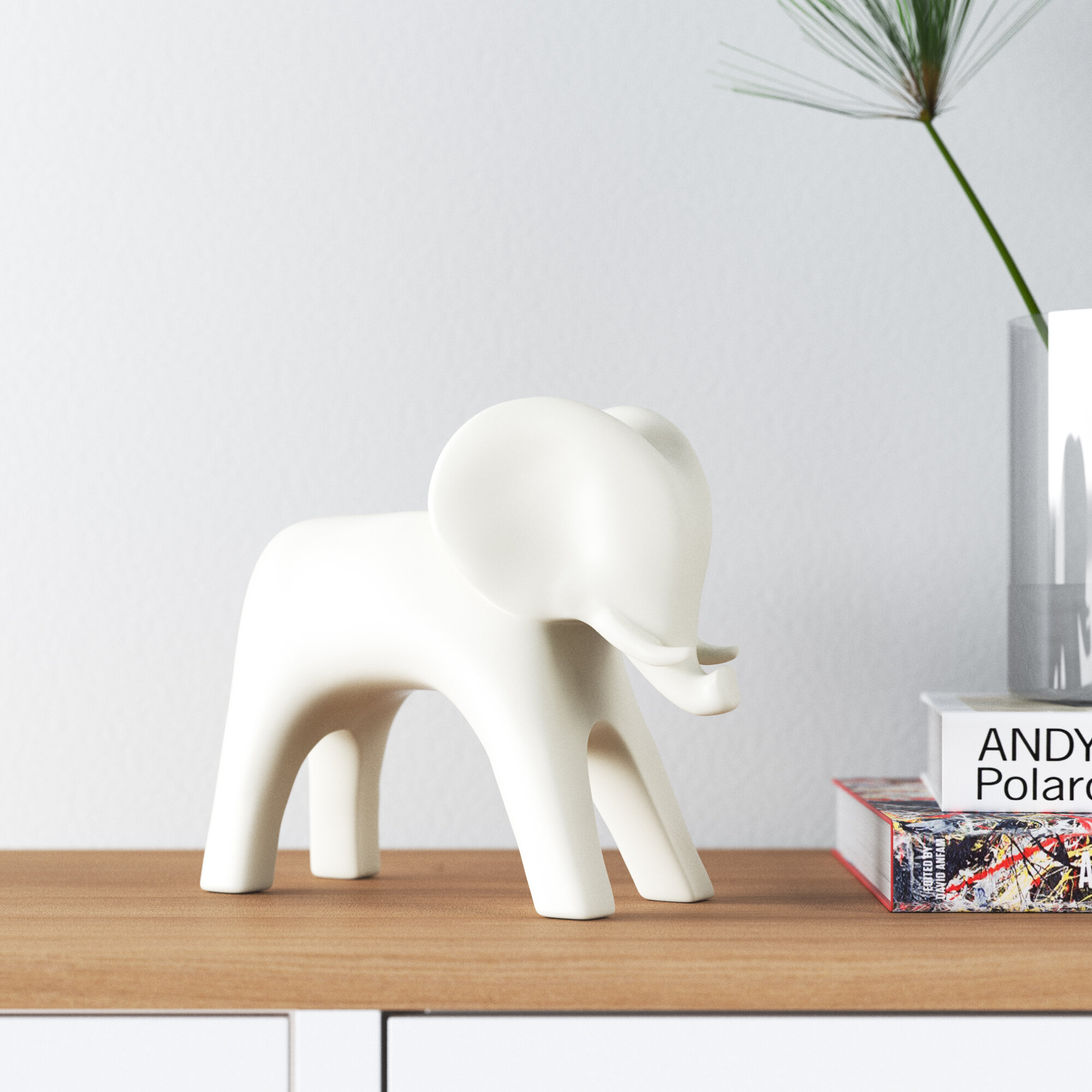 Allmodern Brayden Elephant Figurine Reviews Wayfair