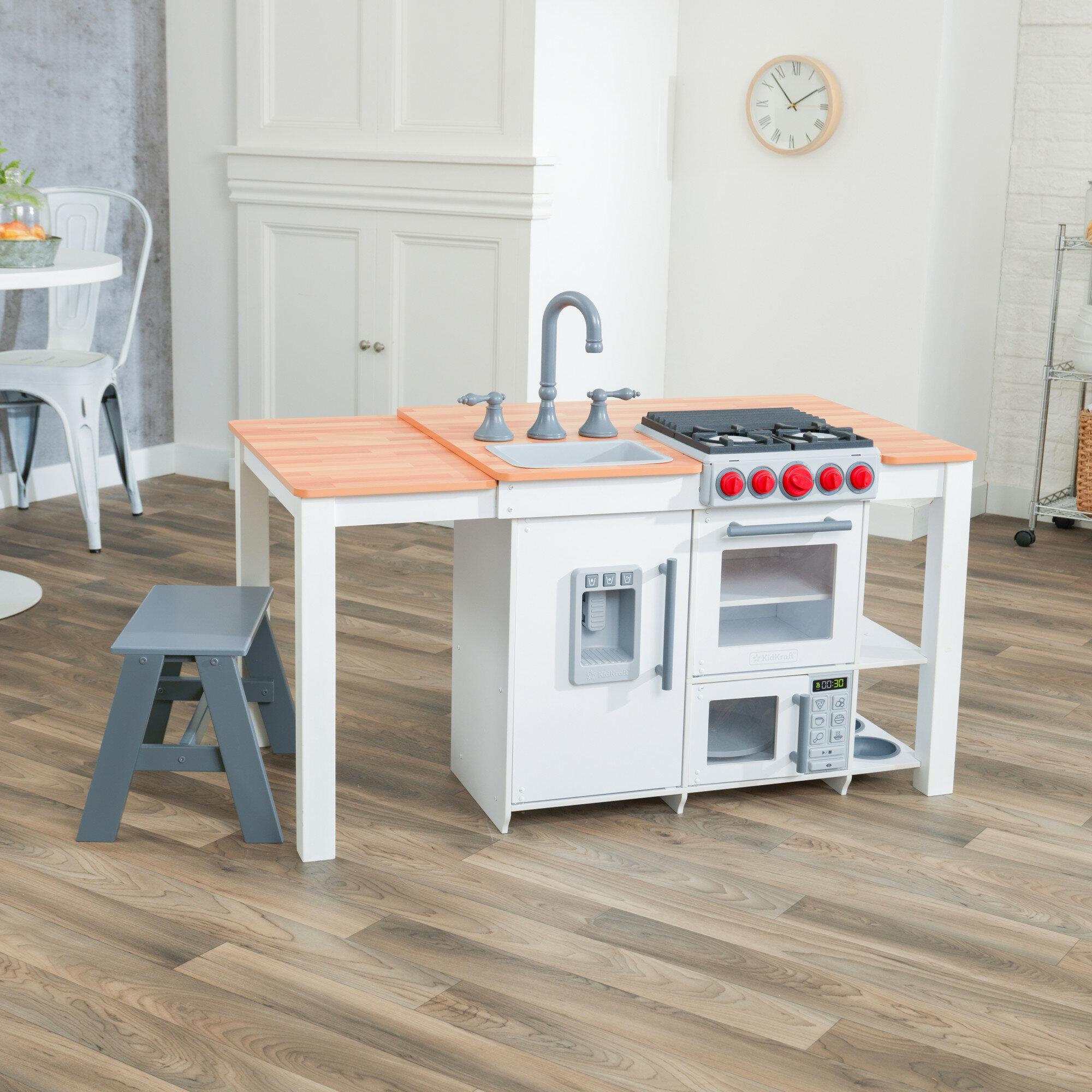 Chefs Create N Play Island Kitchen Set