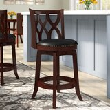 Harold Swivel Counter & Bar Stool by Three Posts