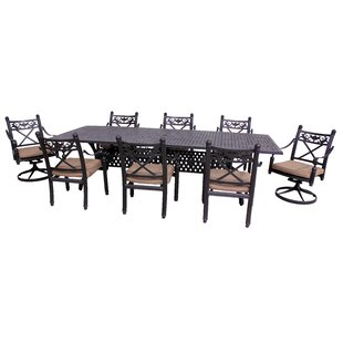 California Outdoor Designs Baldwin 9 Piec..