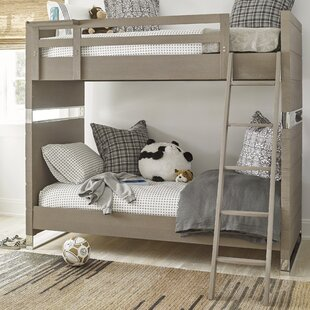 Compare prices Aleta Twin over Twin Bunk Standard Bed ByCanora Grey