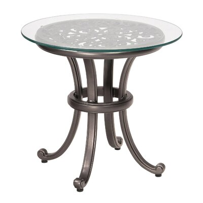 New Orleans Glass Side Table (Set Of 2) by Woodard Sale