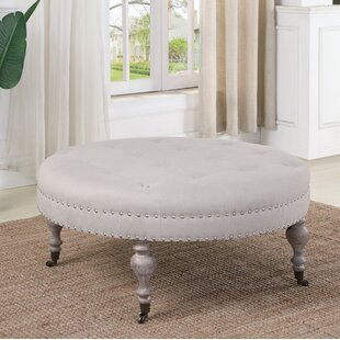 Reviews Creline Tufted Ottoman By Ophelia & Co.
