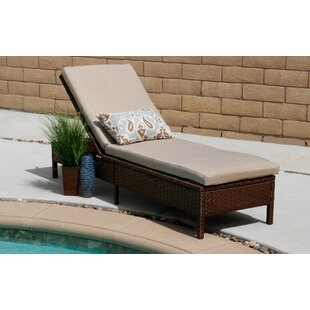 Ivy Bronx Howard Rattan Chaise Lounge