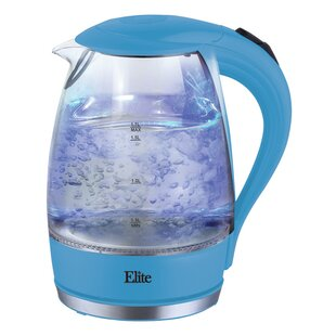 1.7 Qt. Glass Electric Tea Kettle