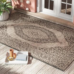 Myers Gray/Black Indoor/Outdoor Area Rug