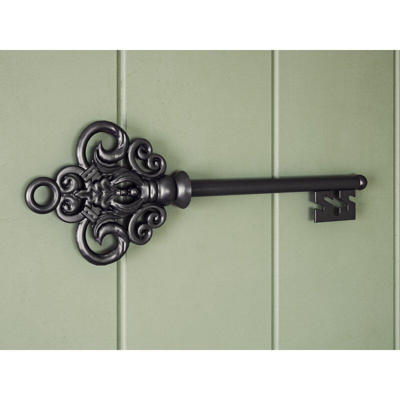 osmonde metallic castle key wall dcor