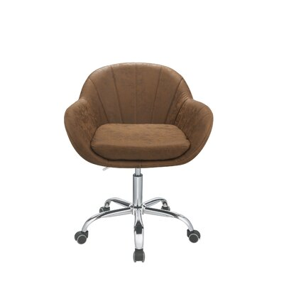 Brayden Studio Curt Task Chair Color: Brown