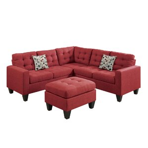 Pawnee Modular Sectional with Ottoman  sc 1 st  AllModern : sectional sof - Sectionals, Sofas & Couches