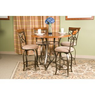 Burrill 5 Piece Counter Height Dining Set by Andover Mills