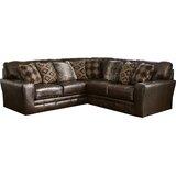 Hopwood Leather 104 Symmetrical Sectional by Loon Peak®