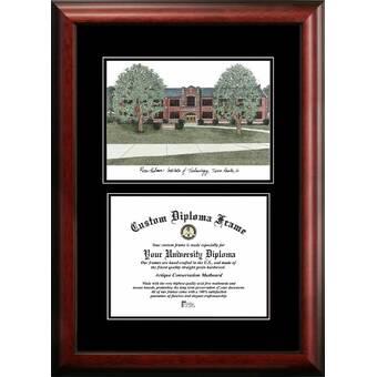 Diploma Frame Deals Furman University Executive Picture Frame Wayfair