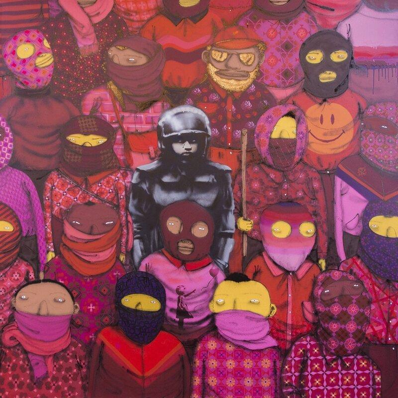 Jaxsonrea 24th Street 1 By Banksy Graphic Art On Wrapped Canvas Wayfair