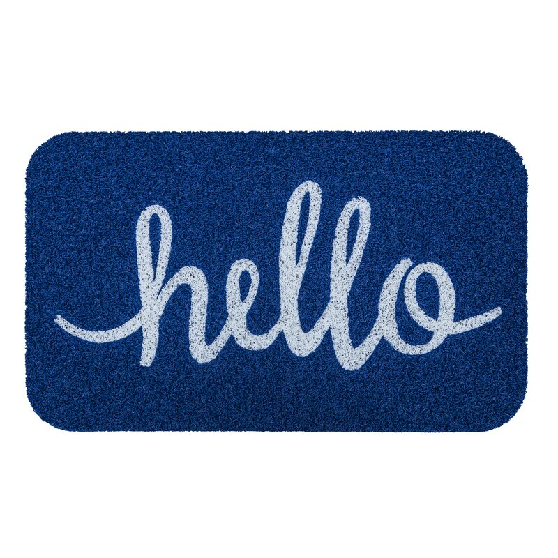 Simplicity Hello Door Mat